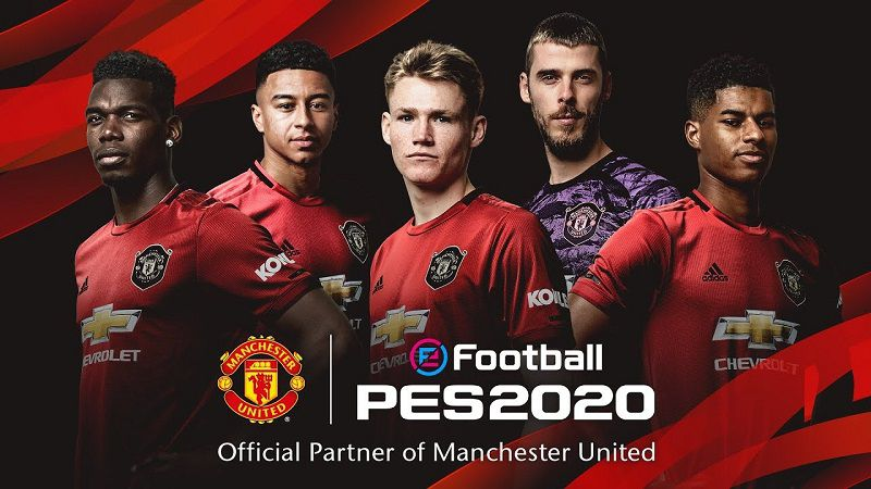 eFootball PES 2020 Mobile and manu
