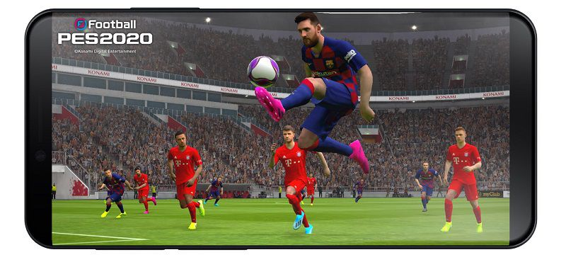 eFootball PES 2020 Mobile graphics