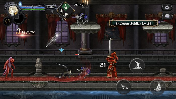 Castlevania Grimoire of Souls gameplay