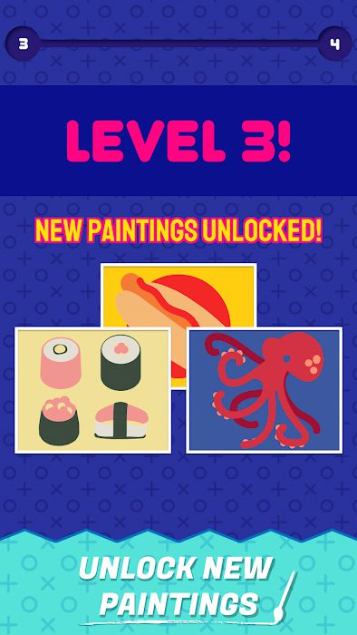 Perfect Paint MOD unlocked new paintings