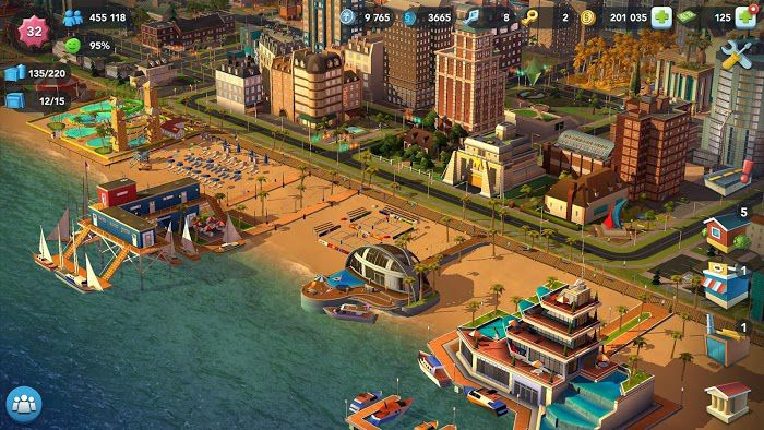 SimCity BuildIt MOD APK graphics