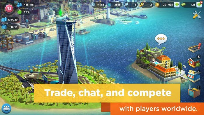SimCity BuildIt MOD trade features