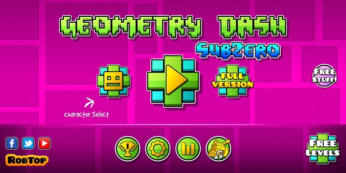 Geometry Dash SubZero MOD APK download