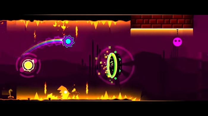 Geometry Dash SubZero MOD graphics