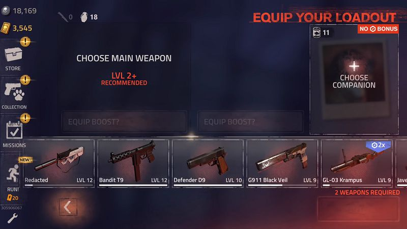 INTO THE DEAD 2 weapons unlocked