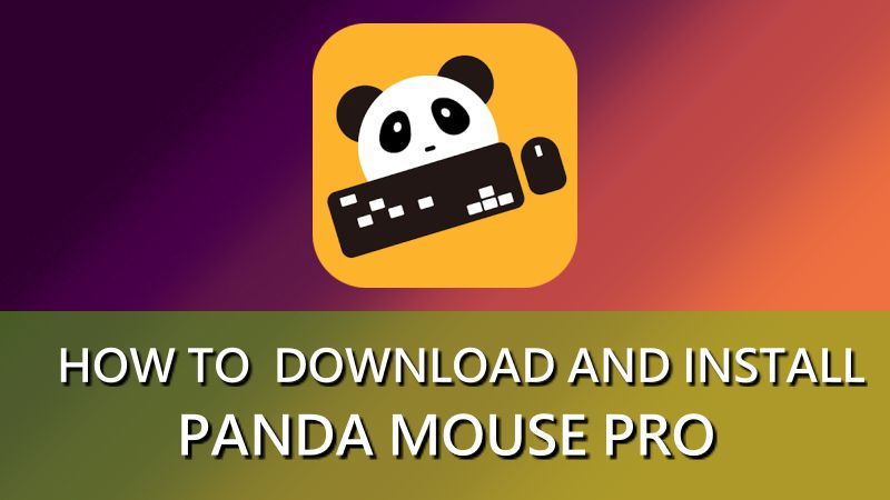 Panda-mouse-pro-how-to-install