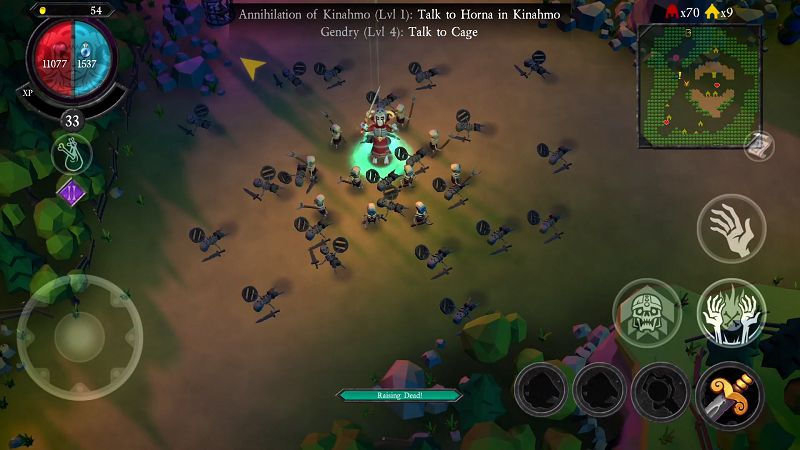 Undead Horde Mobile gameplay