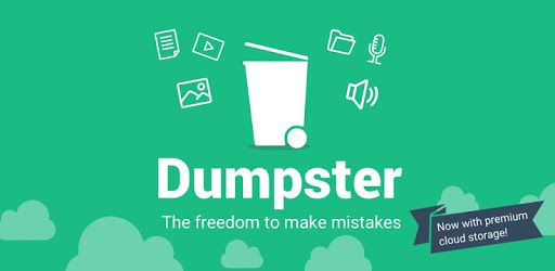 About Dumpster app on Android