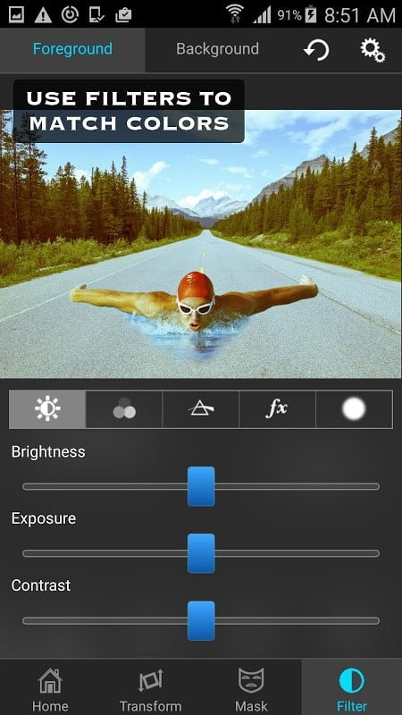 Superimpose filters