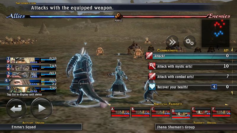 THE LAST REMNANT Remastered Android gameplay