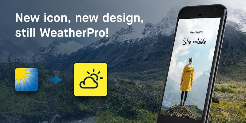 WeatherPro the best weather app