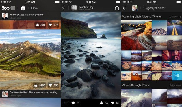 500px features