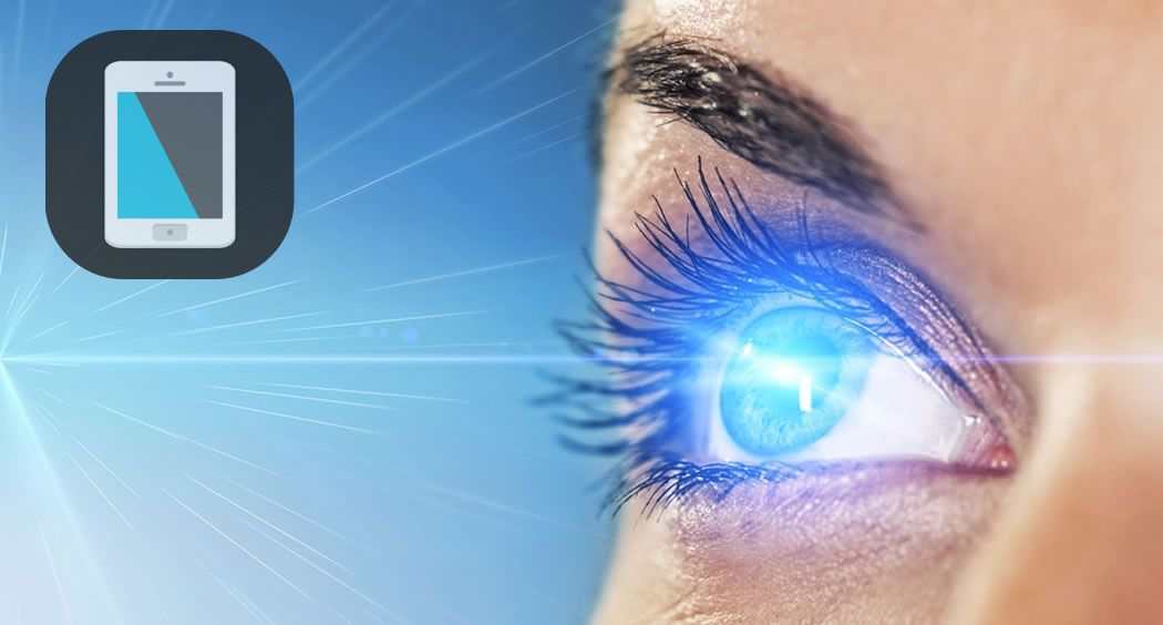 Bluelight Filter for Eye Care protected eye