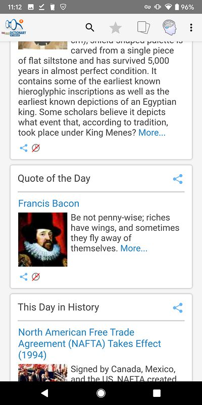 Dictionary Pro quote of the day