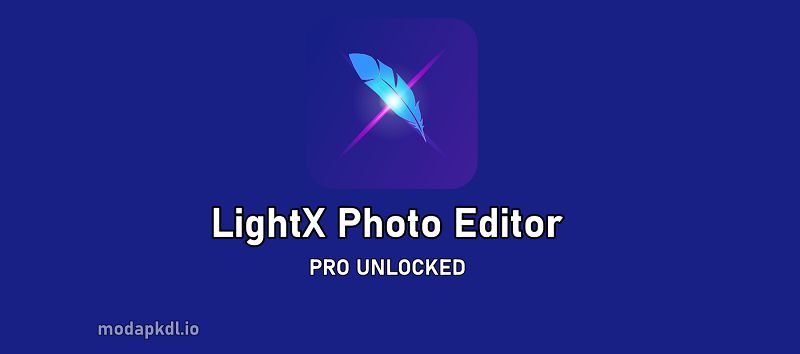 LightX Photo Editor PRO app