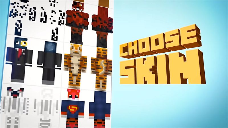 MASTER FOR MINECRAFT custom characters