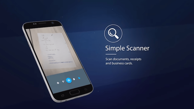 TapScanner simple scanner