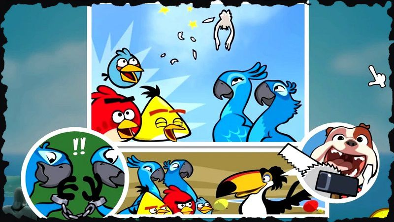 Angry Birds Rio boost