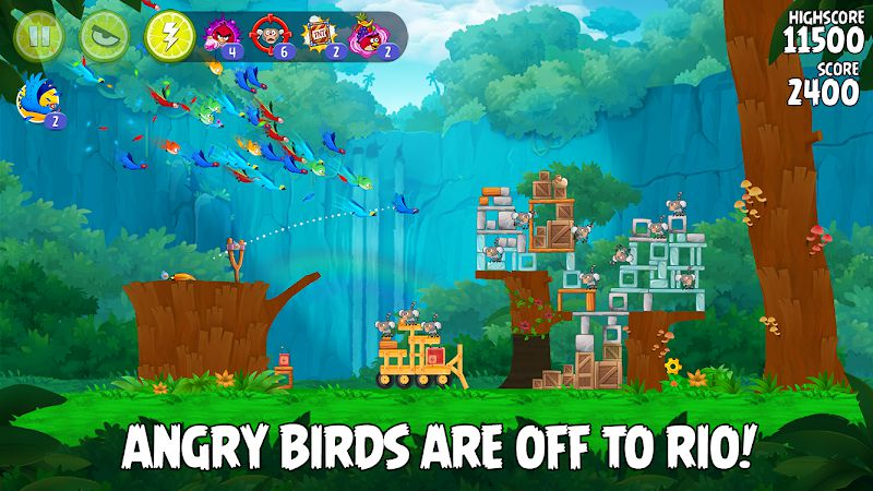 Angry Birds Rio new story