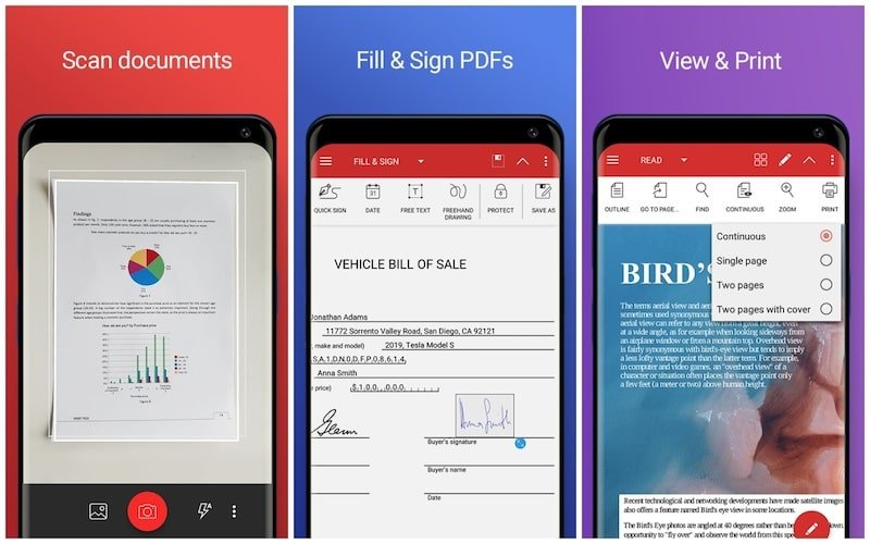 PDF Extra key features