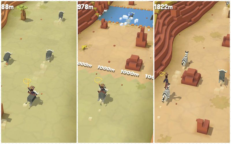 Rodeo Stampede graphics