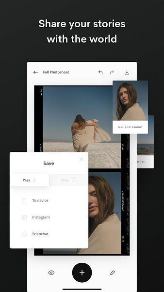 Unfold Plus share features