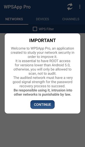 WPSApp Pro security your network