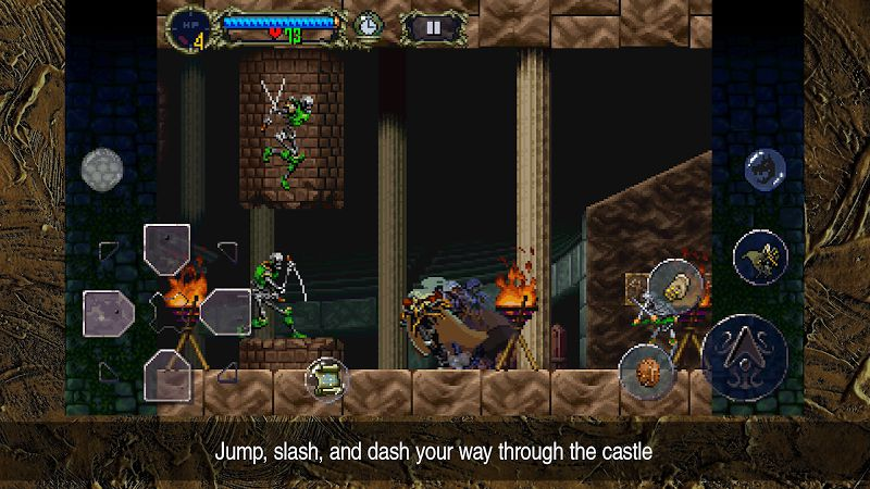 Castlevania Symphony of the Night gameplay