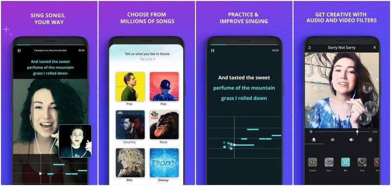 Smule key features