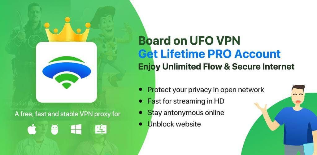UFO VPN VIP features