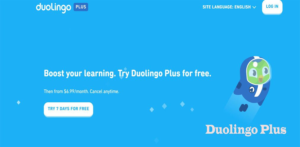 Duolingo Plus features