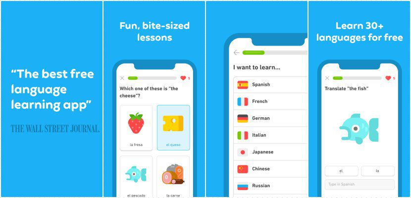 Duolingo feature