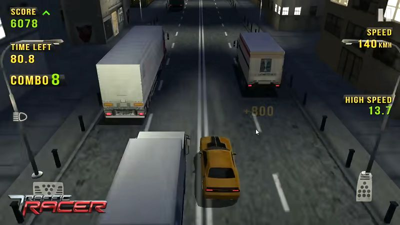 Traffic Racer graphics