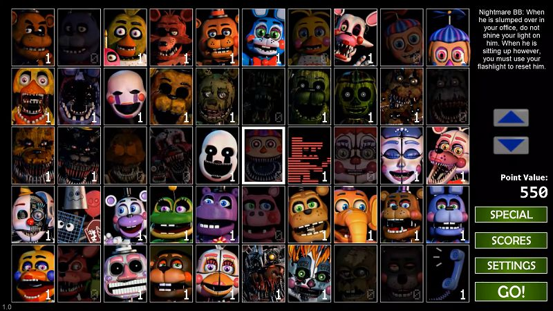 Ultimate Custom Night mod