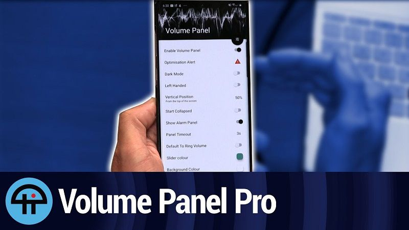 Volume-Control-Panel-Pro-for Android
