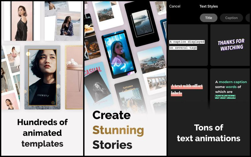 mojo – Video Stories Editor for Instagram features