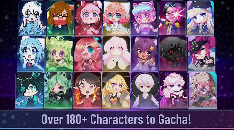 Gacha Club MOD all characters
