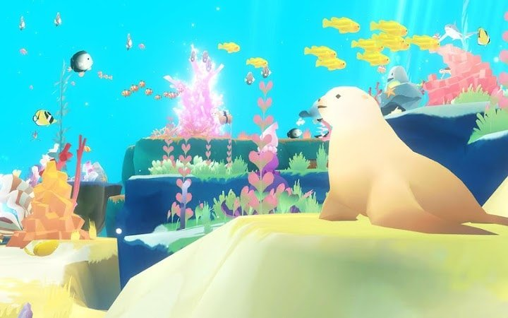 Abyssrium World- Tap Tap Fish graphics and sound